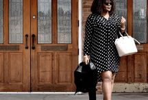Dresses: Shirt Dresses / This board contains images from recent ready-to-wear collections and popular fashion blogs.  The images are roughly in reverse chronological order, with the most recent images at the top.