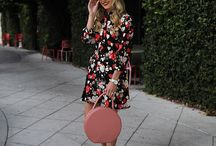 Dresses: A-Line / This board contains images from recent ready-to-wear collections and popular fashion blogs.  The images are roughly in reverse chronological order, with the most recent images at the top.