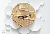 Off White Kitchen Design Ideas / Off white kitchens and cabinetry.  Kitchen design ideas