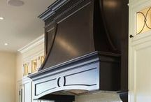 RANGE HOODS / A one of a kind range hood will compliment your dream kitchen