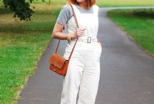Trousers: Dungarees / This board contains images from recent ready-to-wear collections and popular fashion blogs.  The images are roughly in reverse chronological order, with the most recent images at the top.