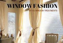 Window Fashion / Beautiful window fashion ideas!