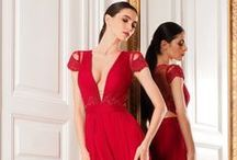 THE RED DRESS / Passion and an amount of feminity. But it is quite difficult to create a beautiful red dress.