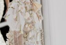 Haute couture. Embroidery / Haute Couture. Flowers. Style
