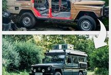 DIY Adventuremobile / Rebuilt an 1984 Mercedes G-Class fire truck into our perfect adventuremobile for a trip around the world.