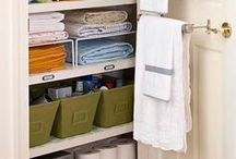 Organize / Get your home organized.