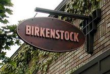 Birkenstock / GM / I'm a great fan of Birkenstock. So many models and colors.