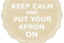 Apron / Schort / GM / Always wearing a apron,when I am cooking or cleaning.