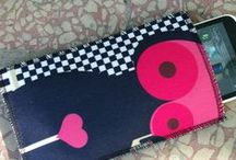 Wonderful fabric phone cases / Cell phone cases
