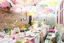 A Family-Friendly Spring Soiree / Planning a party this spring? From DIY décor to fun-for-all-ages activities, find your inspiration with the help of Kleenex® + bloggers Alexis Murphy and Alexandra Heden.