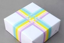 Box ideas and gift wrapping