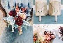 Wedding Flowers, Colors, Decor / Wedding ideas