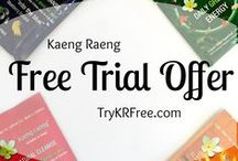 Ambassador Program / Introducing the Kaeng Raeng Ambassador Program!  Do you regularly review products on Amazon.com?  If so, you may be eligible to receive free Kaeng Raeng products for review on Amazon. The more you review, the more you get to try! Apply now at TryKRFree.com!