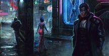 Shadowrun / Inspiration for my Shadowrun P+P