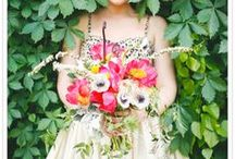 BRIDES AND TROPICAL COLOURS / by Wed Magazine
