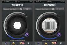 ThingTab iOS / Our app design for ThingTab iOs