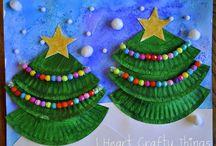 Thema Kerst / Ideeën rondom het thema kerstmis in de groepen 1 en 2
