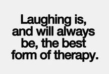 Laugh... its good for you. / I live to laugh!! Its my favorite hobby... :) / by Bethany Wolfe