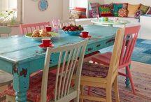 Home: Kleur in huis / Vrolijke kleurtjes in huis