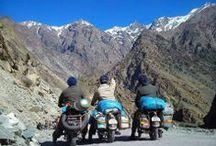 Ladakh / Visit the beautiful barren land of Ladakh. Call 0124-4235112 http://www.travelqube.com/us-vacations/103-Ladakh-Escape-Tour-Packages-From-Delhi #LadakhTour #Travelqube