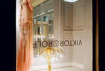 Retail design / The wonderful world of fashion united with interiors! The constant evolving of branding and spaces!