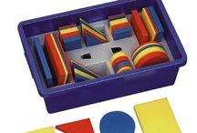 """Thema Kleur en vorm / Ideeën rondom het thema """"Kleur en vorm"""" in de groepen 1 en 2"""