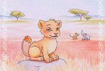 Meine Illustrationen / für Kindergeschichten