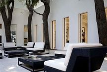 Exterior Spaces / Outdoor living spaces, landscaping and gardens.