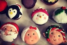 Christmas cupcakes and sweets by Olympia !!! / homemade christmas cupcakes and sweets