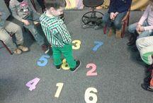 Rekenen: Cijferherkenning/getalbegrip / Leuke activiteiten, materialen en spelletjes voor kinderen die moeite hebben met het onthouden van de cijfersymbolen