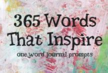 Journalling / All things journalling. Prompts, ideas and pages. Also used for Art Journalling board.