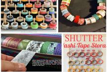 Washi Tape / All things Washi Tape. Where to buy, what to use it for, projects and ideas.