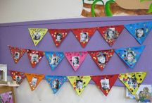 Onderwijs: Verjaardagskalenders / Inspirerende ideeën voor het maken van een originele verjaardagskalender om aan het begin van je schooljaar je klaslokaal alvast leuk aan te kleden.