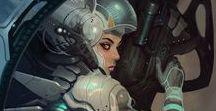 Sci-fi suits References / Pins about Various Futuristic Sci-fi Suits Astronauts suits Alien Suits