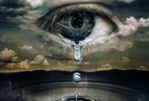 Tears / Each tear is a poet, a healer, a teacher- Rune Lazuli