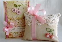 pin cushions / by Darlene Kersey