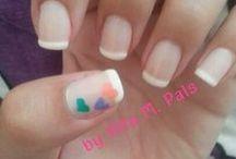 Hair and nails!