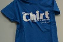 Chirt Merch / Love the Chirt? Grab a Chirt Shirt! We love our fans and will continue to provide you with some fun ways to share your love for our products. Are you a customer? Send us a photo for a chance to snag a FREE Chirt Shirt!