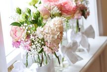Blumendeko / Brautstrauß und Blumendeko