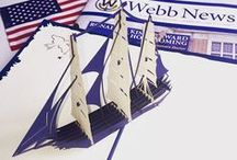 Nautical / John and Wombi met at Webb Institute, a college for naval architecture so their love for ship design runs deep.  You can see the passion they apply to designing these nautical pop up card in all of the intricate details.  Check out our whole collection of Nautical themed pop up cards at: http://lovepopcards.com/shop/discovery/