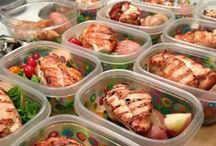 GORGO Meal Prep / Prepping your food ahead helps you stay focused and prioritized. / by GORGO Women's Fitness Mag