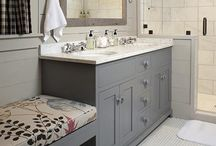 Bathrooms / Check out my site: www.triedandtrueprojects.com for ideas about this and other types of projects!