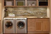 Laundry Rooms / Check out my site: www.triedandtrueprojects.com for ideas about this and other types of projects!