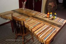 Pallet projects! / Check out my site: www.triedandtrueprojects.com for ideas about this and other types of projects!