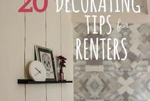 Renting? No problem! / Check out my site to help others learn DIY tricks : www.triedandtrueprojects.com