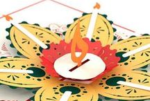 Diwali / Celebrate the Festival of lights with friends and family! Happy Diwali!