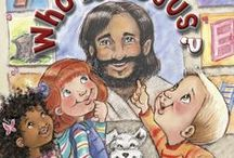 WHO IS JESUS? / WHO IS JESUS? presents a biblical picture of our Savior in a way that will help your child recognize Him as Love Personified.  https://www.amazon.com/Who-Jesus-Maryann-Diorio/dp/0930037146/ref=tmm_hrd_swatch_0?_encoding=UTF8&qid=1412358742&sr=8-1-fkmr0