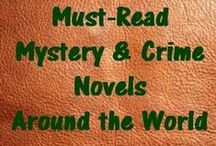 Must-Read Mystery & Crime Novels Around the World / Book Riot's list of Must-Read Mystery & Crime Novels Around the World... with a few of our own additions!