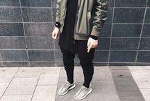 Men's oversize style