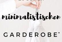 Capsule Wardrobe Minimalismus / Minimalistischer Kleiderschrank